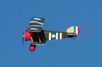 Sopwith Camel - Electric Parts Set and plans