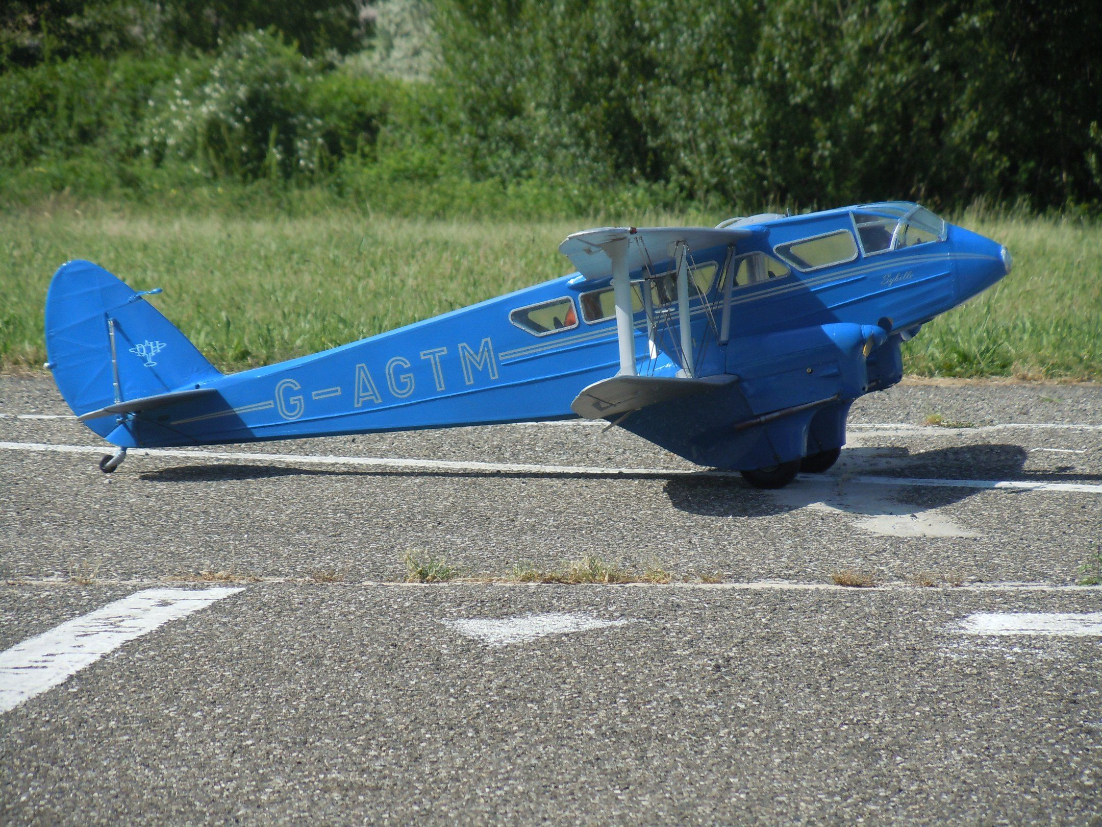 Jerry Bates - DeHavilland DH.89a Dragon Rapide - Parts Set