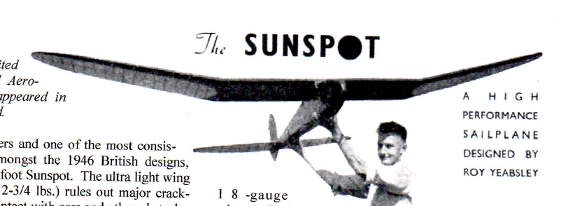 sunspot 121 u0026quot  vintage glider by r yeabsley