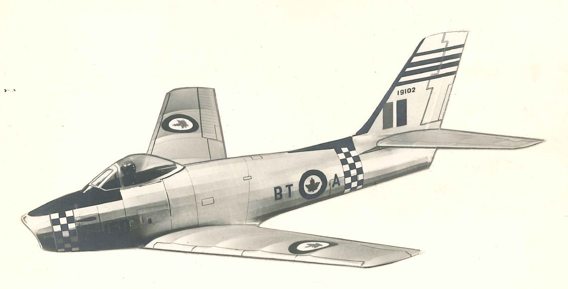 Veron F-86E Sabre - ducted fan